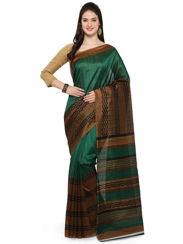 Green Bhagalpuri Saree - YNF-28669