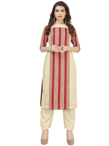 Multi Color Crepe Women's Stitched Kurti - YOYO-3217