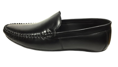 Black Color Leather Tpr Men's Formal Shoes - Z-1203-black