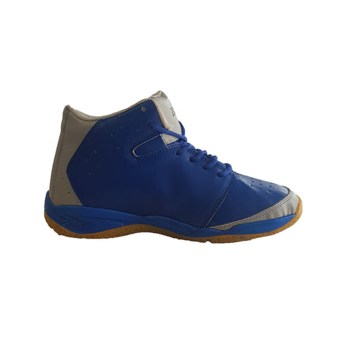 Blue Color Leatherette Men's Basketball Shoes - ZUXIObasketballBlueZ