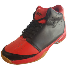 Buy Red Color Leatherette Men's Basketball Shoes