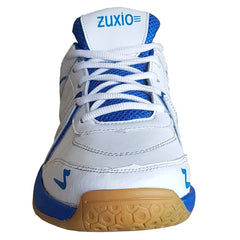White Color Synthetic Mens Badminton - ZUXIOmodelCaptivaWhite