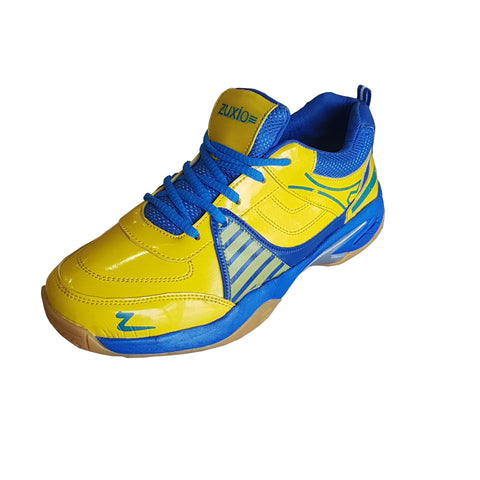 Yellow Color Synthetic Mens Badminton - ZUXIOmodelCaptivaYellow