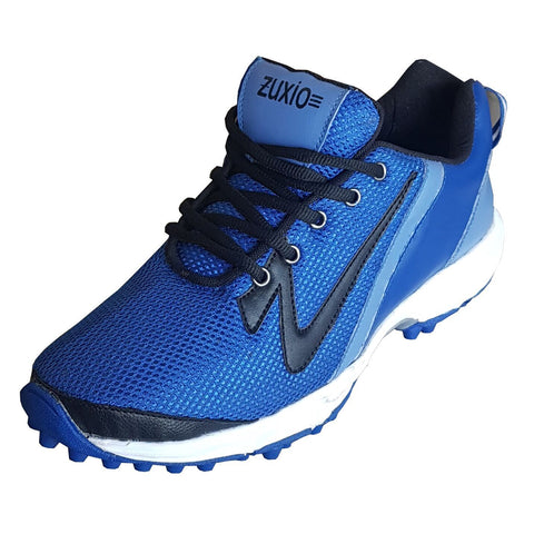 Blue Color Mesh Mens Cricket - ZUXIOmodelCrkBlueMsh