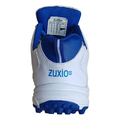 White Color Synthetic Mens Cricket - ZUXIOmodelCrkBlueStripes