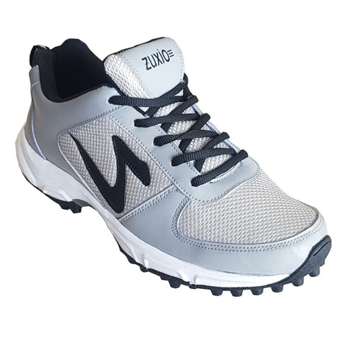 Grey Color Synthetic Mens Cricket - ZUXIOmodelCrkGrey