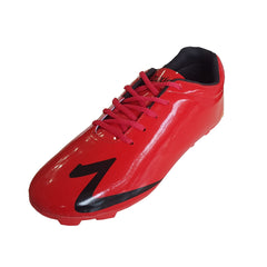 Buy Red Color Synthetic Men Foot Ball Shoe