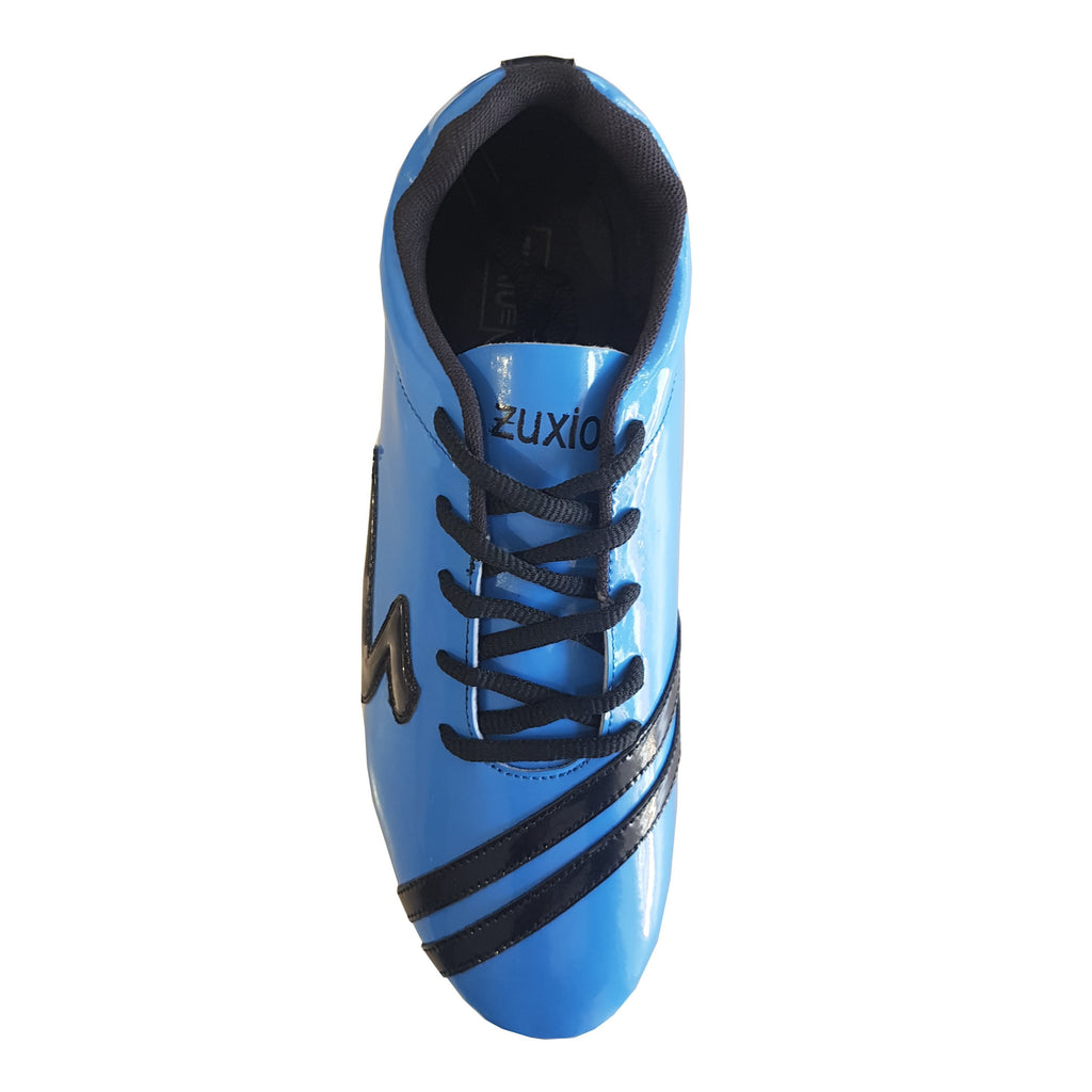 Buy Blue Color Synthetic Men Foot Ball Shoe