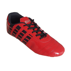 Buy Red Color Synthetic Unisex Football Shoes