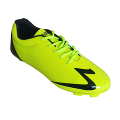 Buy Yellow Color Synthetic Men Foot Ball Shoe