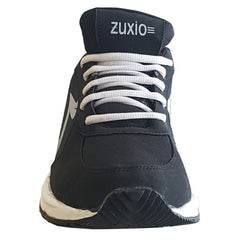 Black Color Synthetic Mens Running - ZUXIOmodelRunBlack