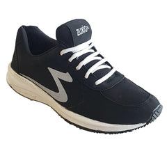 Buy Black Color Synthetic MensRunning