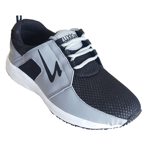 Grey Color Mesh Mens Running - ZUXIOmodelRunGreyBlkMsh