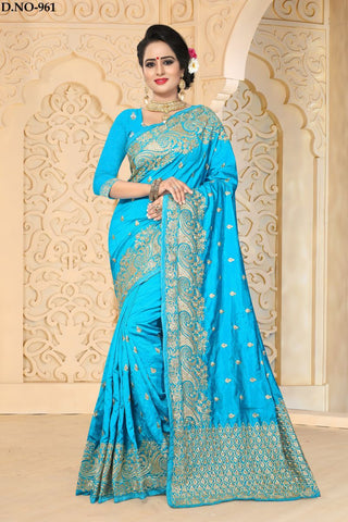 Firoji Color Zoya ArtSilk Saree - ZoyaReturns-961