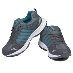 Blue Color Mesh Men Shoe - asianblue