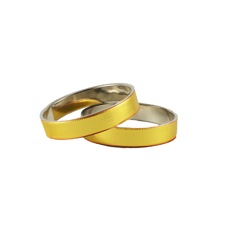 Golden Color Plain Brass Bangle - ban1232