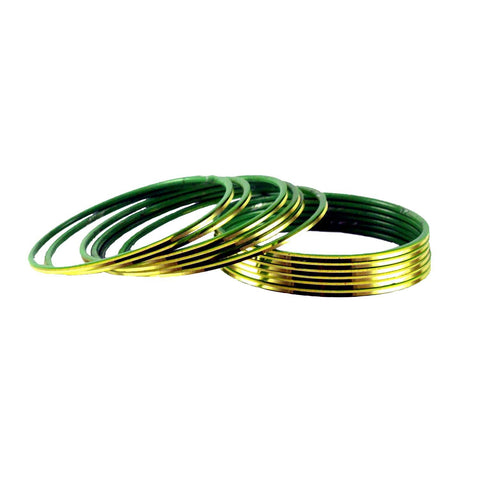 Totai Color Plain Brass Bangle - ban1420