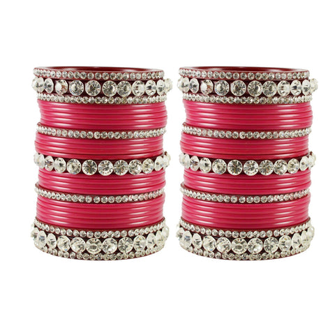Gajari Color Acrylic Bangle  - ban1673
