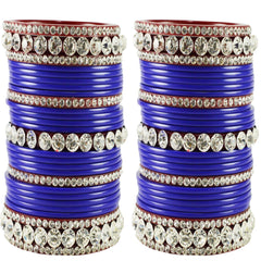 Buy Blue Color Acrylic Bangle