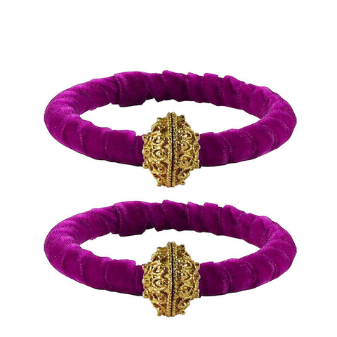 Rani Color Brass Plain Bangle - ban2269