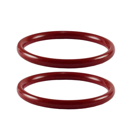 Red Color Acrylic Plain Bangle - ban2305