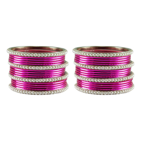 Rani Color Moti Brass Bangle - ban2909