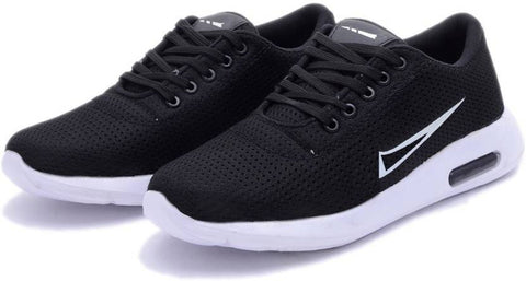 Black Color Mesh Men Shoe - blacknike