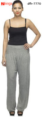 DEEFASHIONHOUSE- Women's Beautiful Grey Melange Viscose Lycra Stitched Jodhpurs - dfh-7770