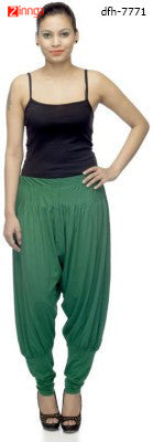 DEEFASHIONHOUSE- Women's Beautiful Dark Green Viscose Lycra Stitched Jodhpurs - dfh-7771