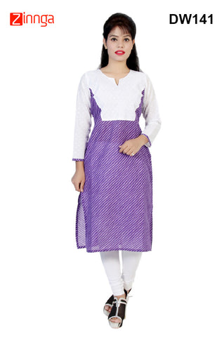 DESIWAKHRA-Women's Beautiful Cotton Kurtis - dw141