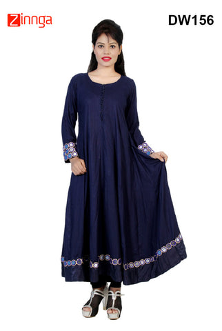 DESIWAKHRA-Women's Beautiful Rayon Kurtis - dw156