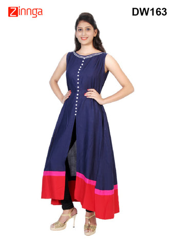 DESIWAKHRA-Women's Beautiful Rayon Kurtis - dw163