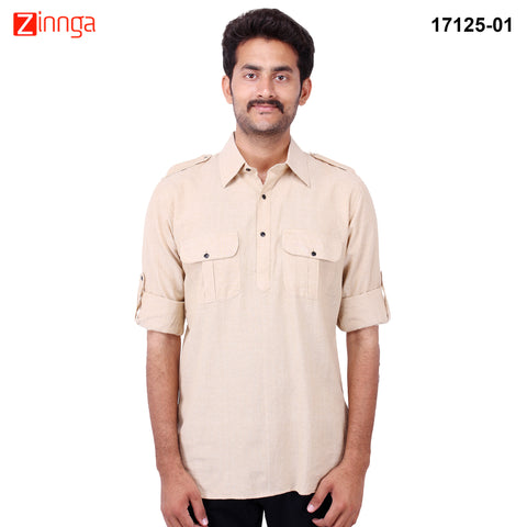 FBBIC-Nice Looking Men's Formalwear And Casualwear,Partywear kurtas- fbbic-17125-1