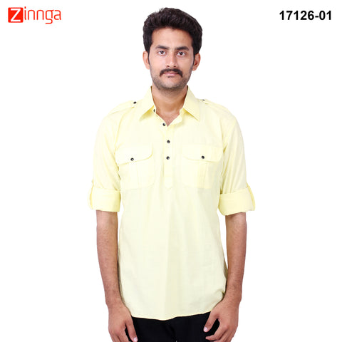FBBIC-Nice Looking Men's Formalwear And Casualwear,Partywear kurtas- fbbic-17126-1