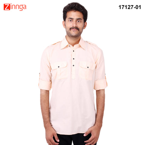 FBBIC-Nice Looking Men's Formalwear And Casualwear,Partywear kurtas- fbbic-17127-1