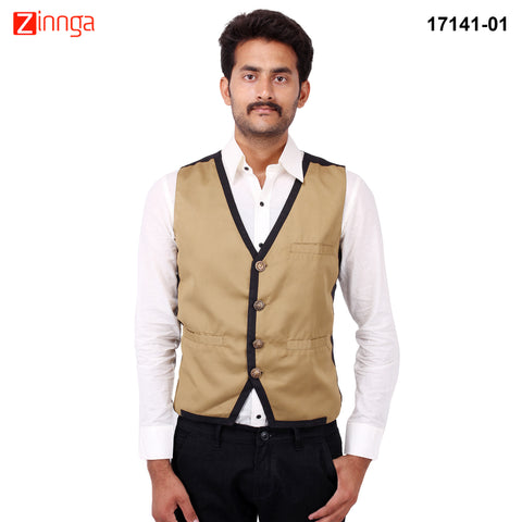 FBBIC-Nice Looking Men's Formalwear And Casualwear,Partywear Waistcoat- fbbic-17141-1