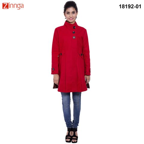 FBBIC-Nice Looking Women's Long Coat-fbbic-18192-1