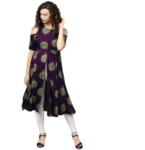 Rani Color Rayon Women's Stitched Kurti - k-626