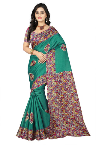 Green Color  Silk Saree - ks-daya-green