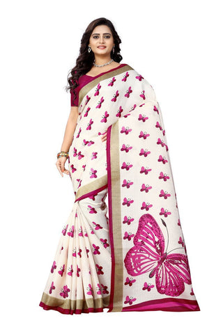 Pink Color  Silk Saree - ks-titli-pink