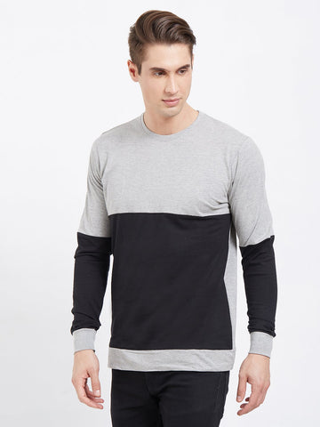 Gray Color Cotton Men T-Shirts-lexcorp-48GB2