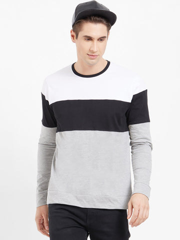 Multi Color Color Cotton Men T-Shirts-lexcorp-L37WBG