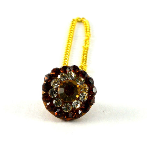 Multi Color Stone Stud-Handmade Pure Lakh Borla - man151