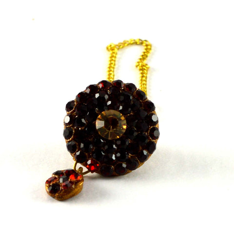 Multi Color Stone Stud-Handmade Pure Lakh Borla - man164