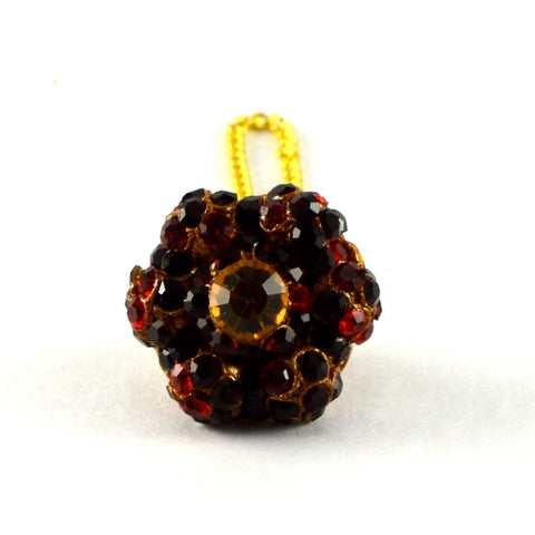 Multi Color Stone Stud-Handmade Pure Lakh Borla - man169