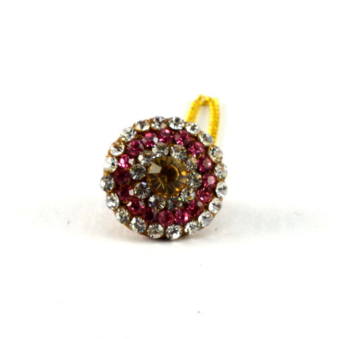 Multi Color Stone Stud-Handmade Pure Lakh Borla - man55