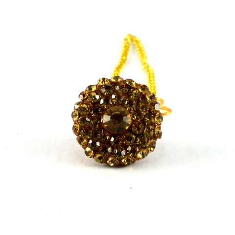 Multi Color Stone Stud-Handmade Pure Lakh Borla - man56