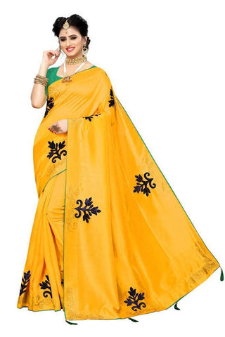 Yellow Color Zoya Silk Women's Saree - s-5134
