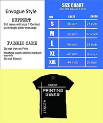 Black Color GSM With Cotton Mens Tshirt - 10326