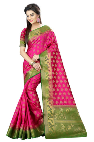 Rani Color Nylon Dyeable Saree - siya-2013